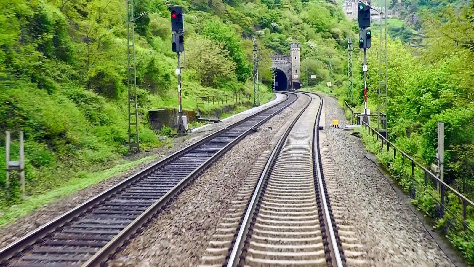 DB Bahn – Nr. 20 – Führerstandmitfahrt – Von Bingen ( Rhein ) Hbf nach Koblenz Hbf – BR 612