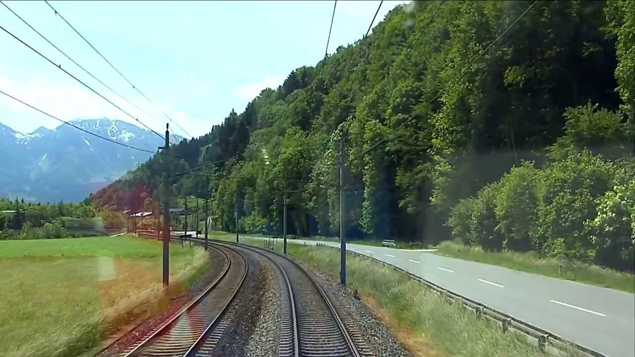 Führerstandsmitfahrt Salzburg – Schwarzach/St. Veit [HD] – Cab Ride – ÖBB 1116