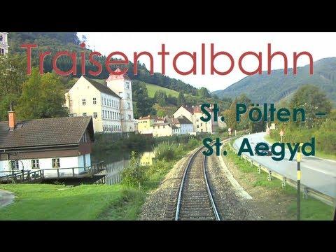 Führerstandsmitfahrt Traisentalbahn St. Pölten – St. Aegyd [HD] – Cab Ride – ÖBB 2143
