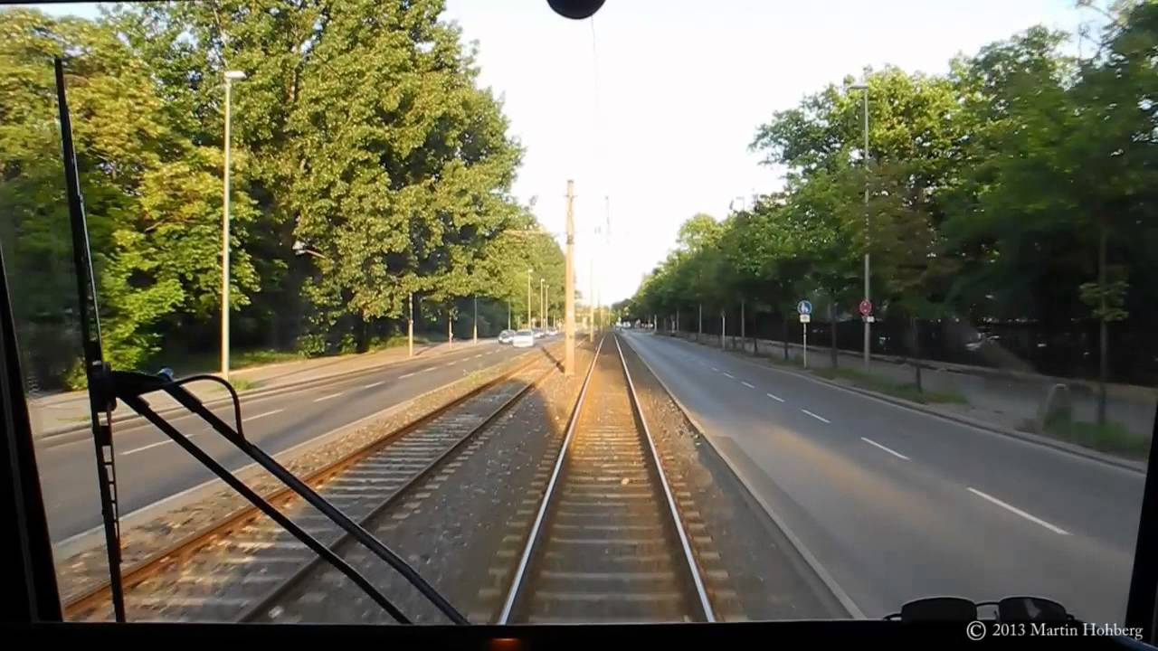 BVG Berlin Tram Linie 21 / 67 – Führerstandsmitfahrt