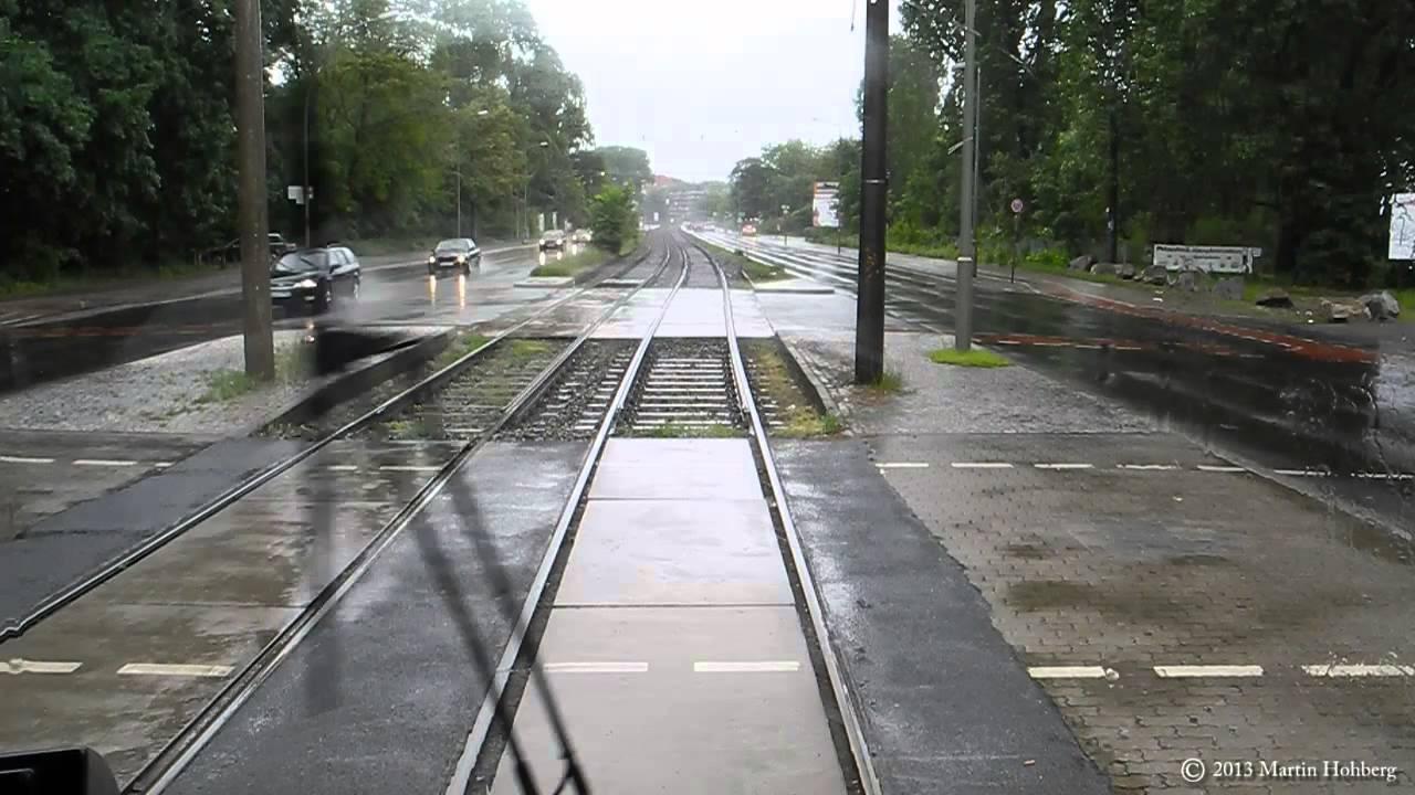 BVG Tram Linie 27 – Mitfahrt im Berliner Dauerregen