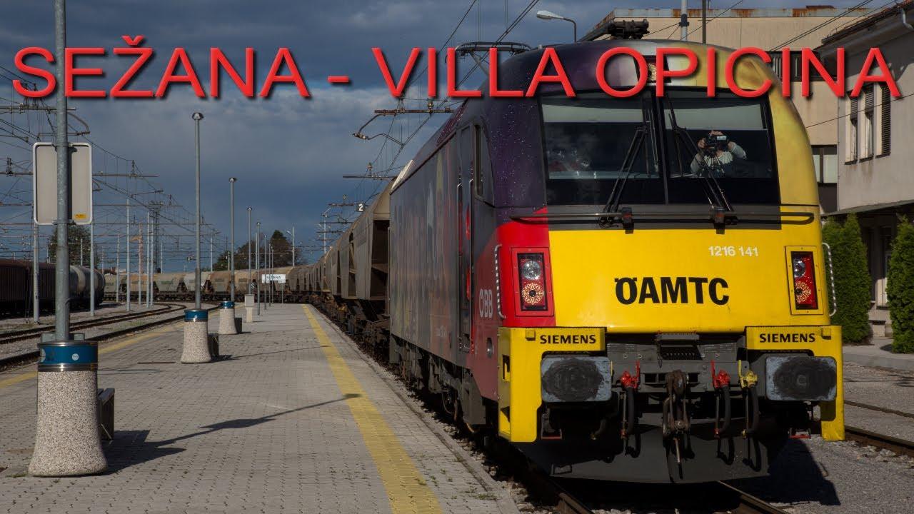 Cab Ride (Führerstandsmitfahrt) Sežana (SLO) – Villa Opicina (IT) – Sežana (SLO)
