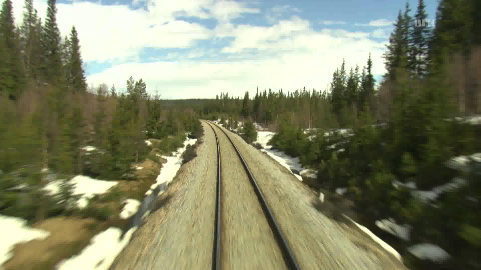 Cab Ride Norway : Trondheim – Bodø (Spring) Nordland Line