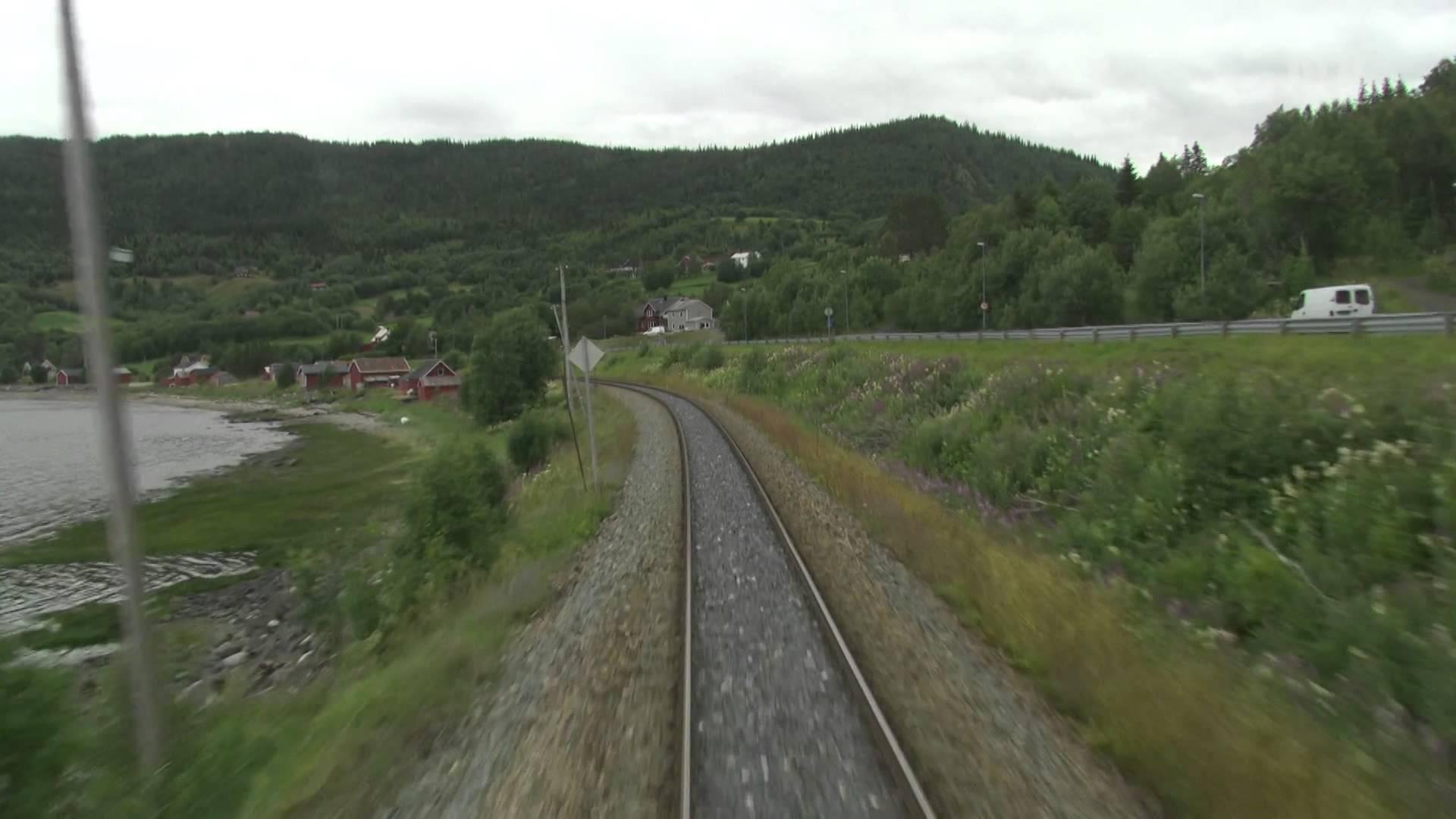 Cab Ride Norway : Trondheim – Bodø (Summer) Nordland Line