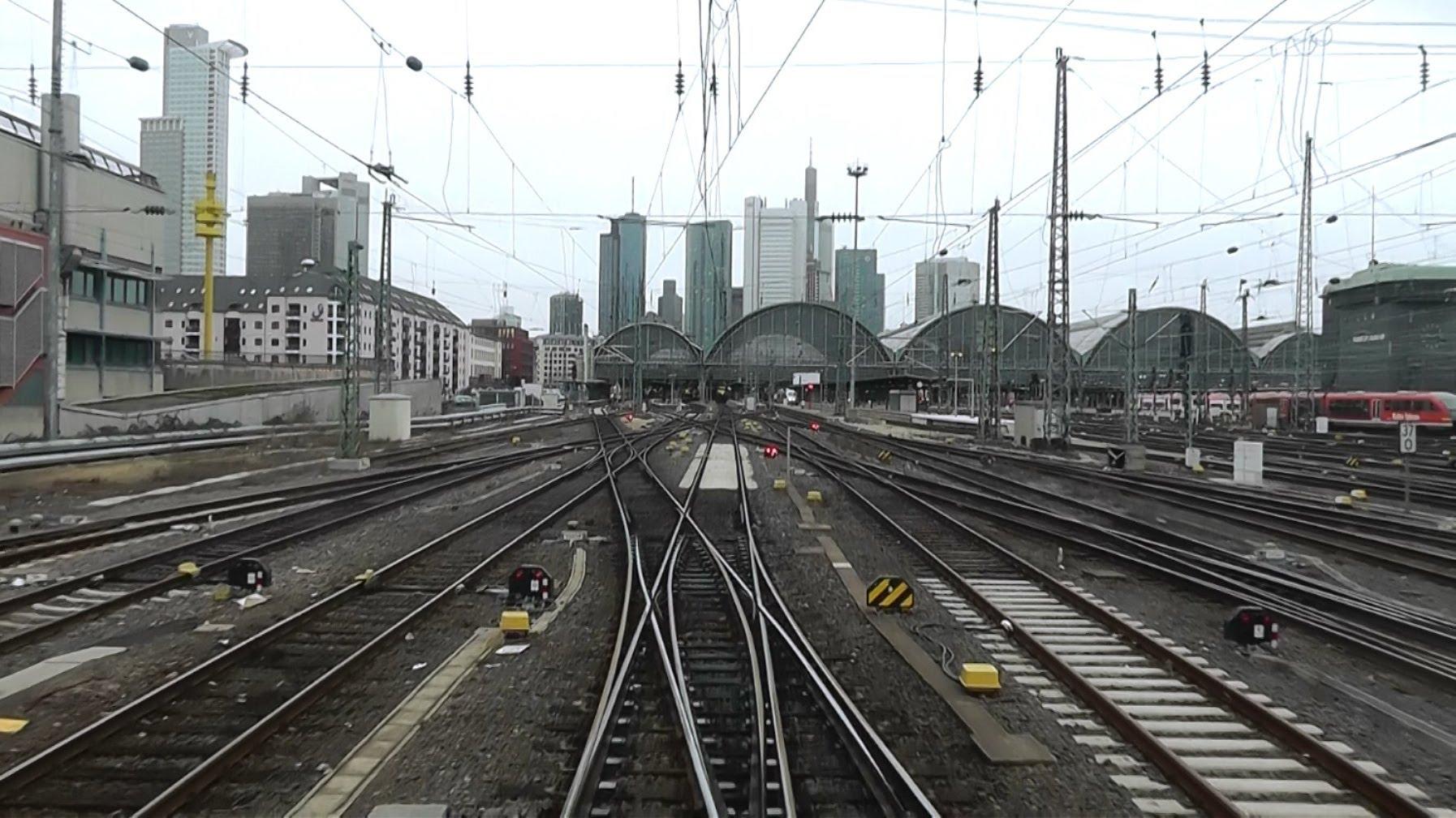 DB Bahn – Nr. 14 – Führerstandmitfahrt – Von Mainz Hbf nach Frankfurt Hbf – BR 143