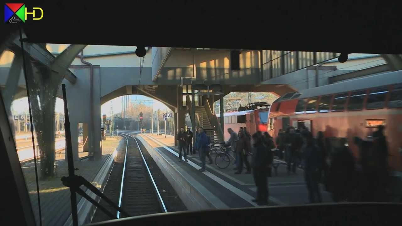 Führerstandsmitfahrt auf der RB 75 von Aschaffenburg nach Darmstadt [HD]