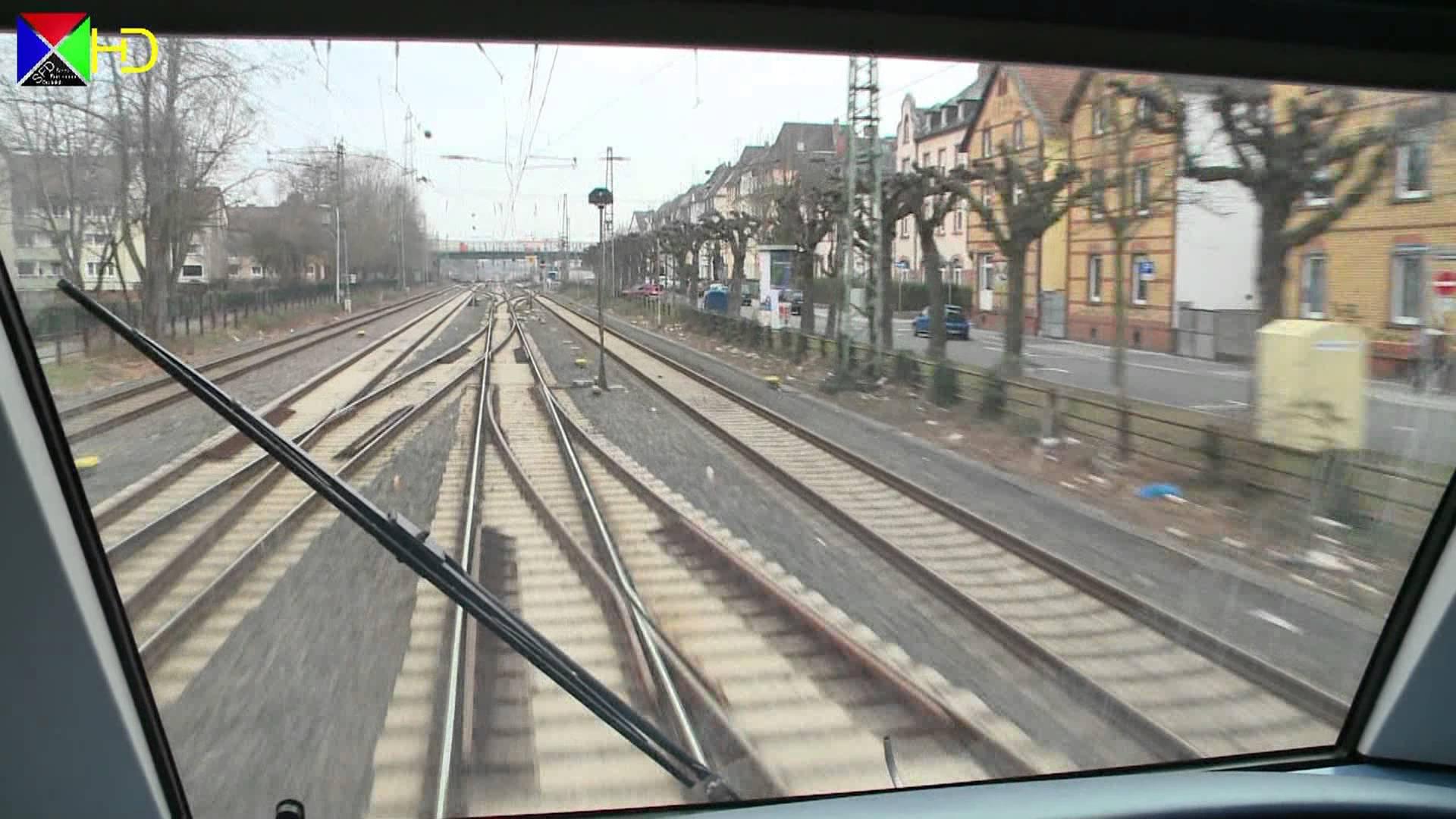 Führerstandsmitfahrt auf der S2 – Niedernhausen über Frankfurt nach Dietzenbach [HD]