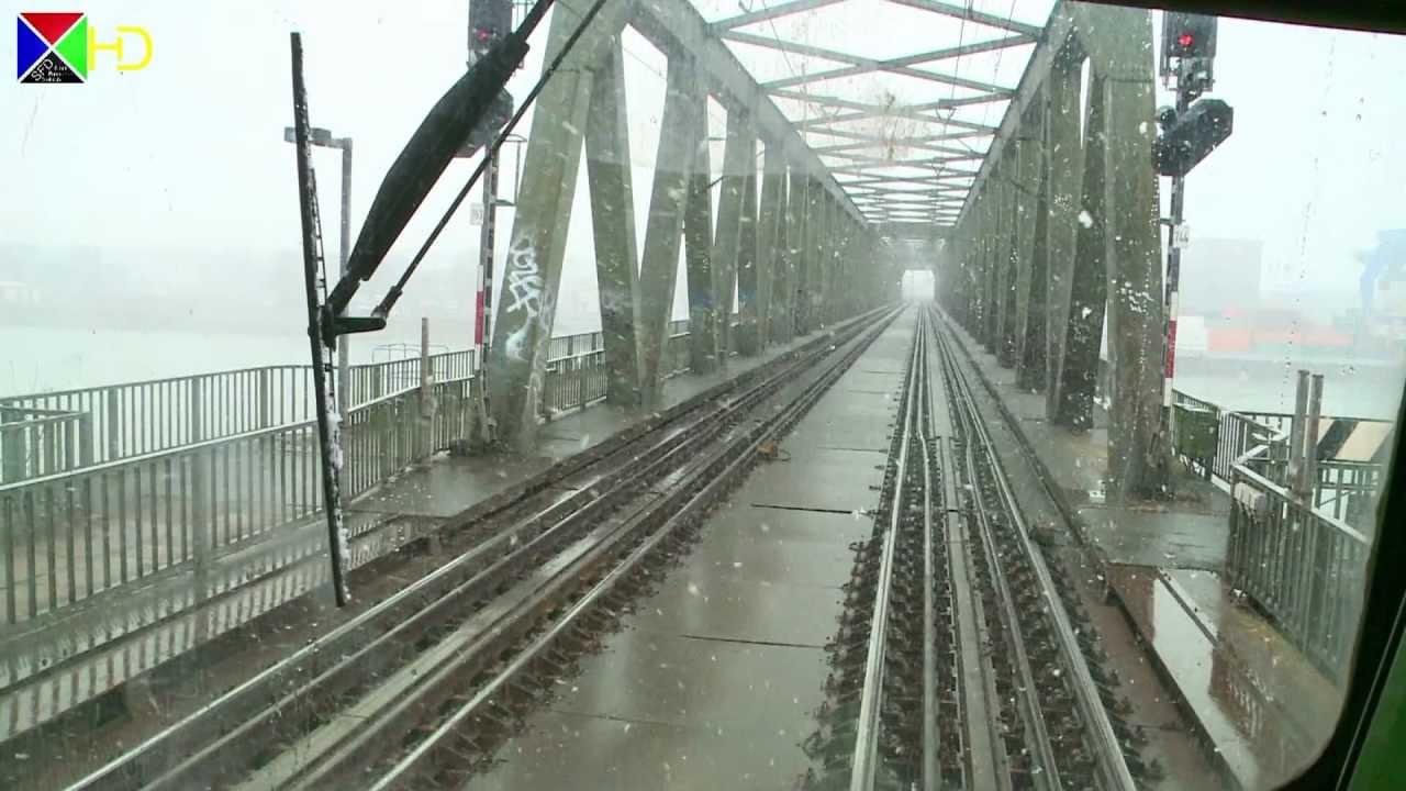 Führerstandsmitfahrt auf der S8 – Wiesbaden über Mainz und Frankfurt nach Hanau [HD]