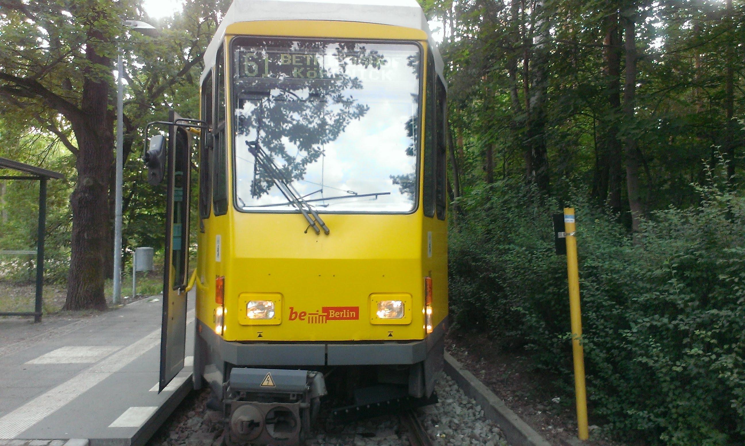 Führerstandsmitfahrt Linie 61