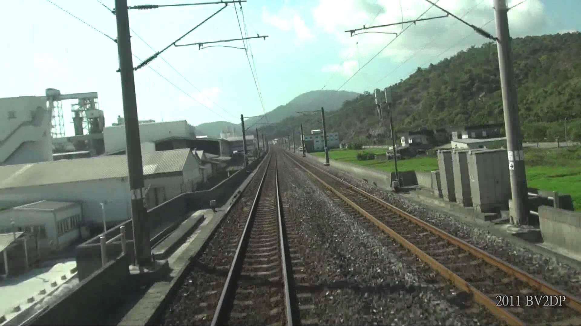 [FULL HD 1080P] 2011.8 台鐵 1091次(206次) 台北-花蓮 路程景 TEMU1000太魯閣號 TED1010
