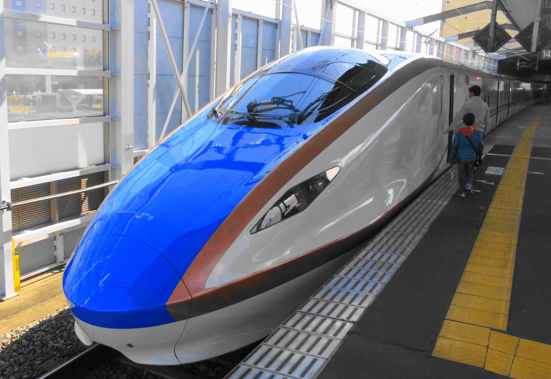 【Full HD】北陸新幹線 長野-東京 E7系 車窓 Hokuriku Shinkansen. Series E7