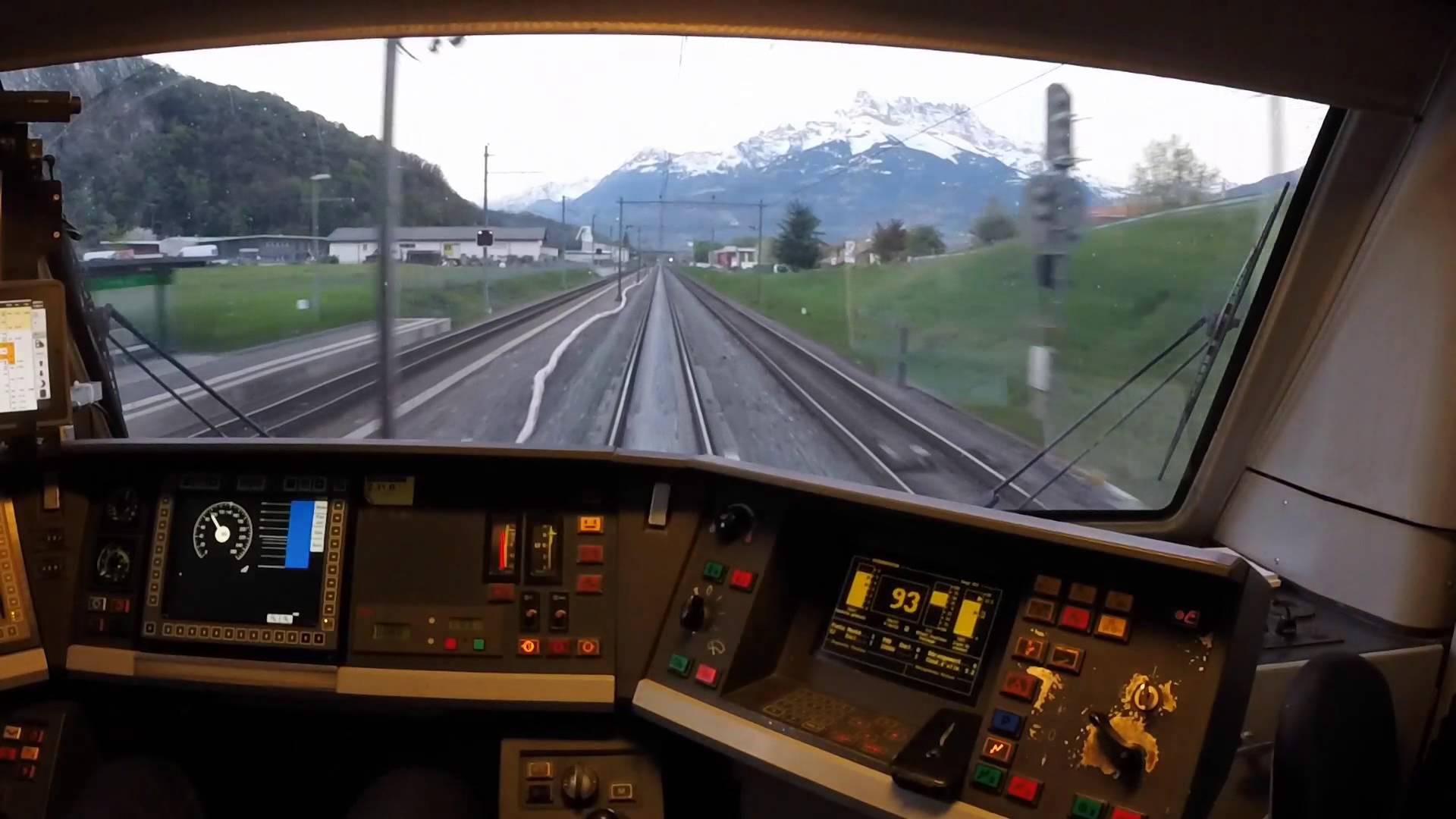 Lausanne – Sion au petit matin