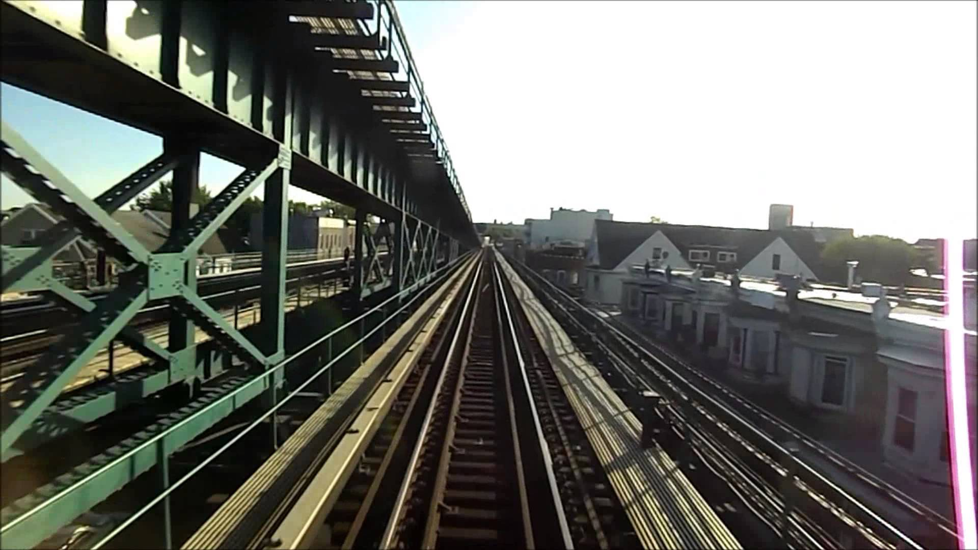 New York City Subway HD EXCLUSIVE: R62A 7 Train Roundtrip Railfan (Express and Local)