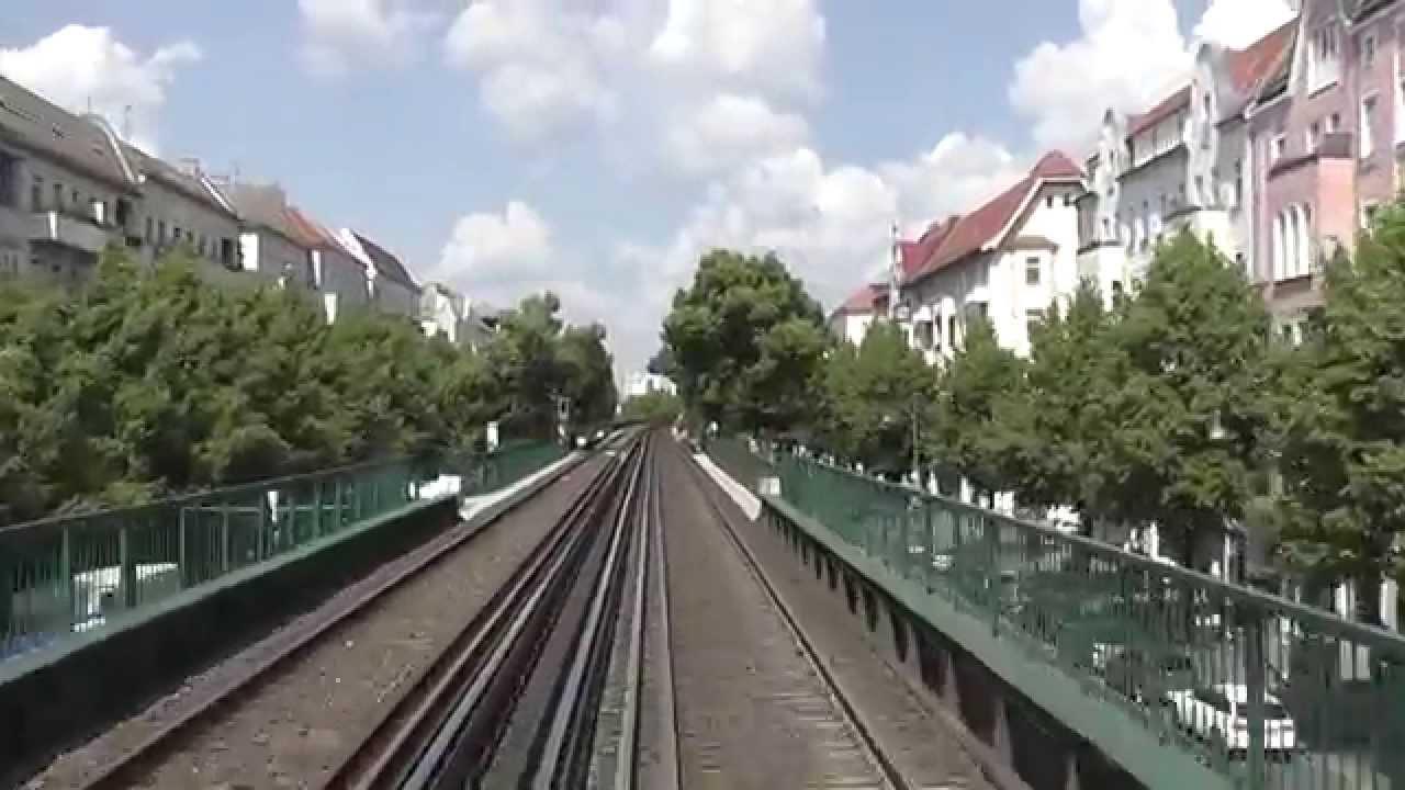 U-Bahn Berlin – U2 Führerstandsmitfahrt / Cab Ride: Ruhleben – Pankow