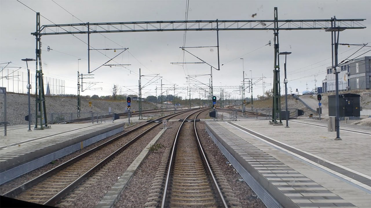 Train Driver's View: Malmö-Ystad