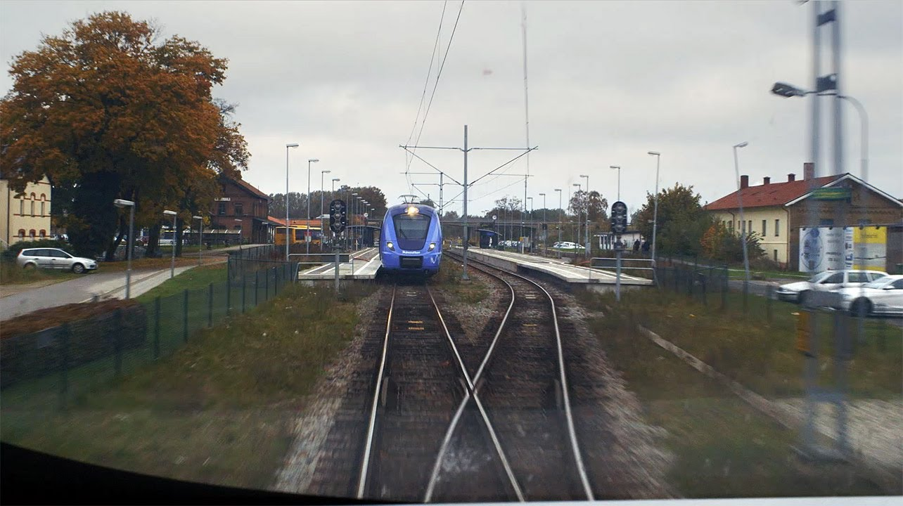 Train Driver's View: Ystad-Simrishamn