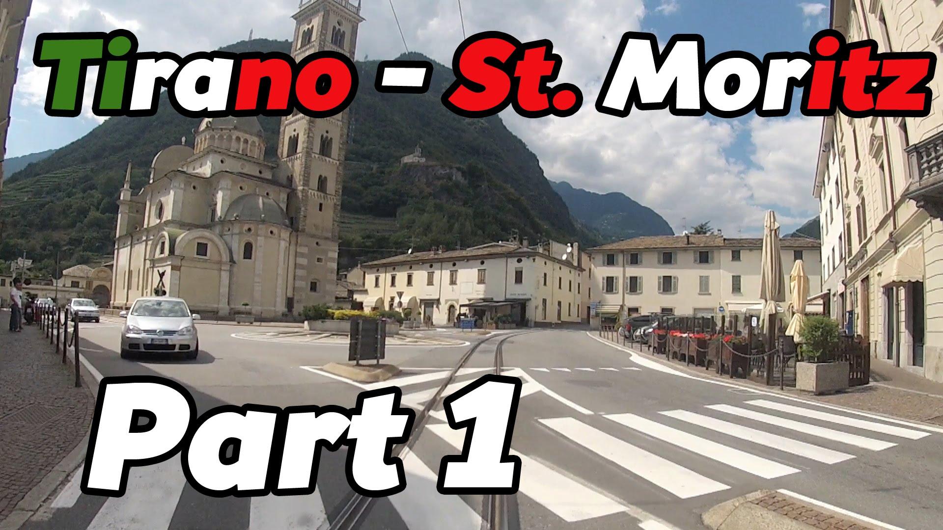 Cabride RhB Tirano – St. Moritz PART 1 [HD]