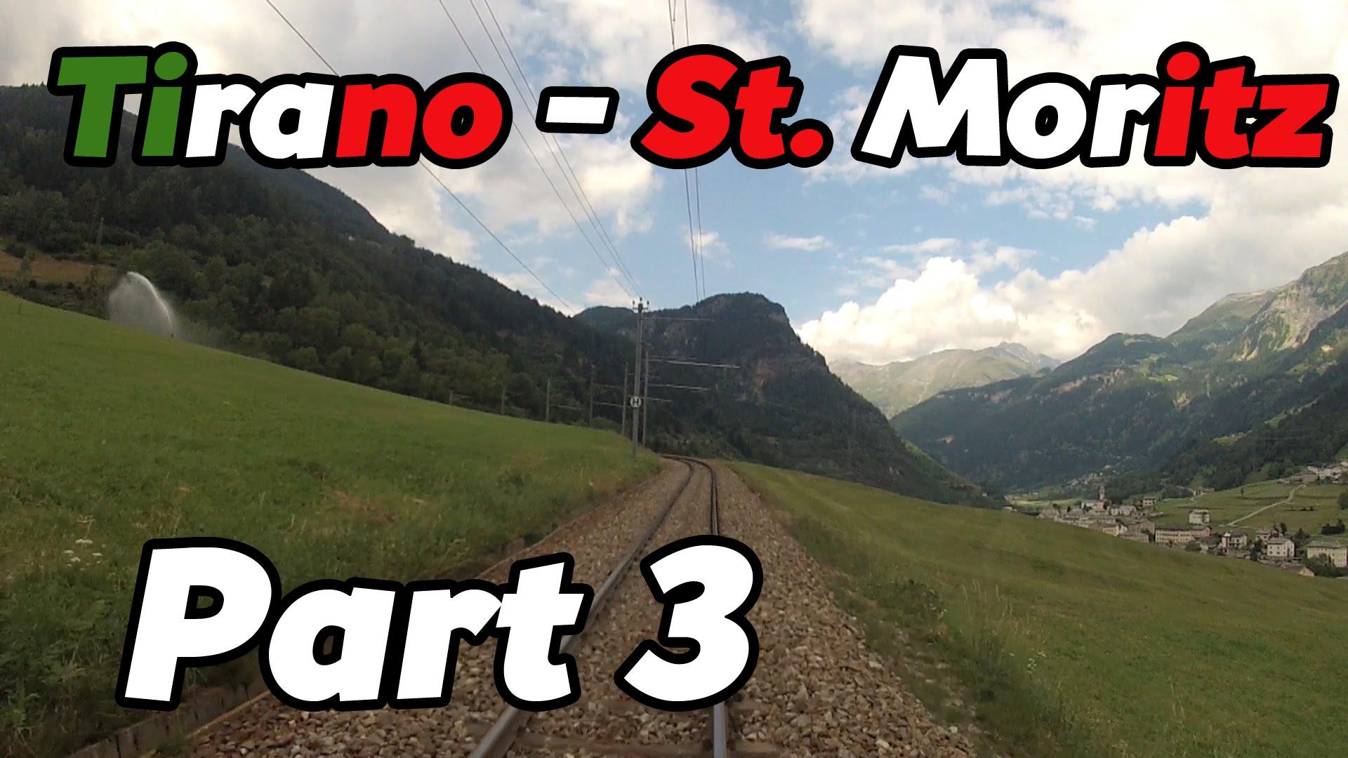 Cabride RhB Tirano – St. Moritz PART 3 [HD]