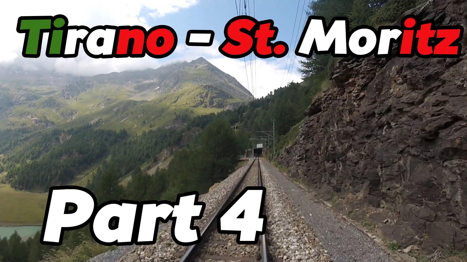 Cabride RhB Tirano – St. Moritz PART 4 [HD]