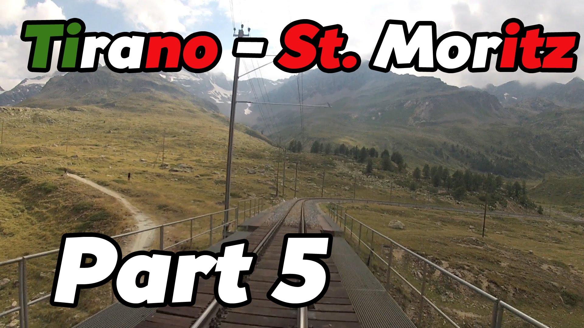 Cabride RhB Tirano – St. Moritz PART 5 [HD]