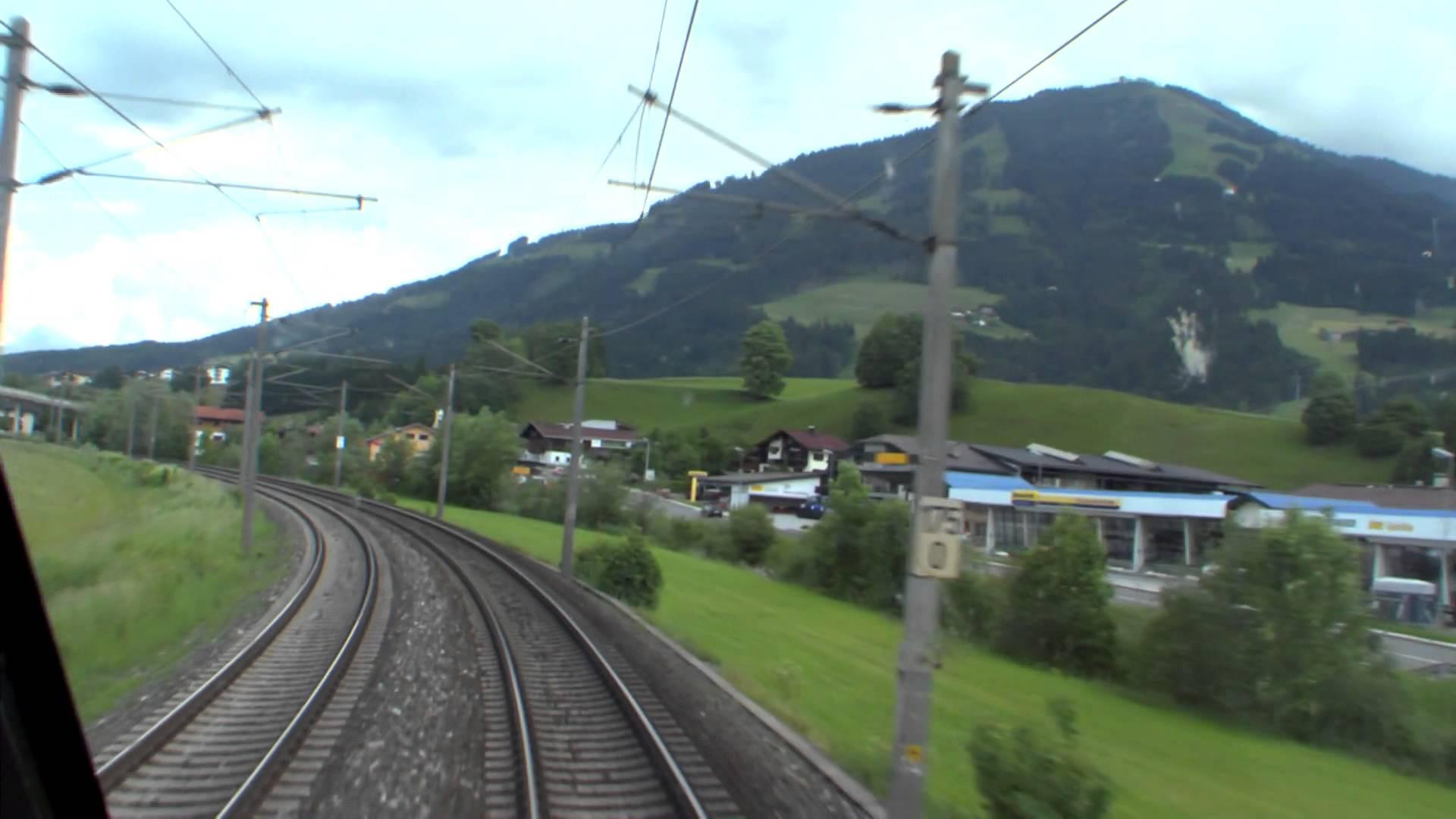 Führerstandsmitfahrt Giselabahn Wörgl – Kitzbühel [HD] – Cab Ride – ÖBB 1116
