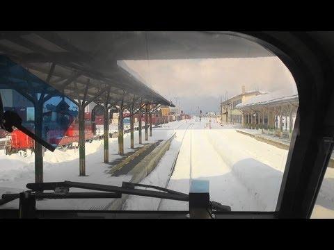 「流氷特急オホーツクの風」前面展望③ 遠軽ー網走