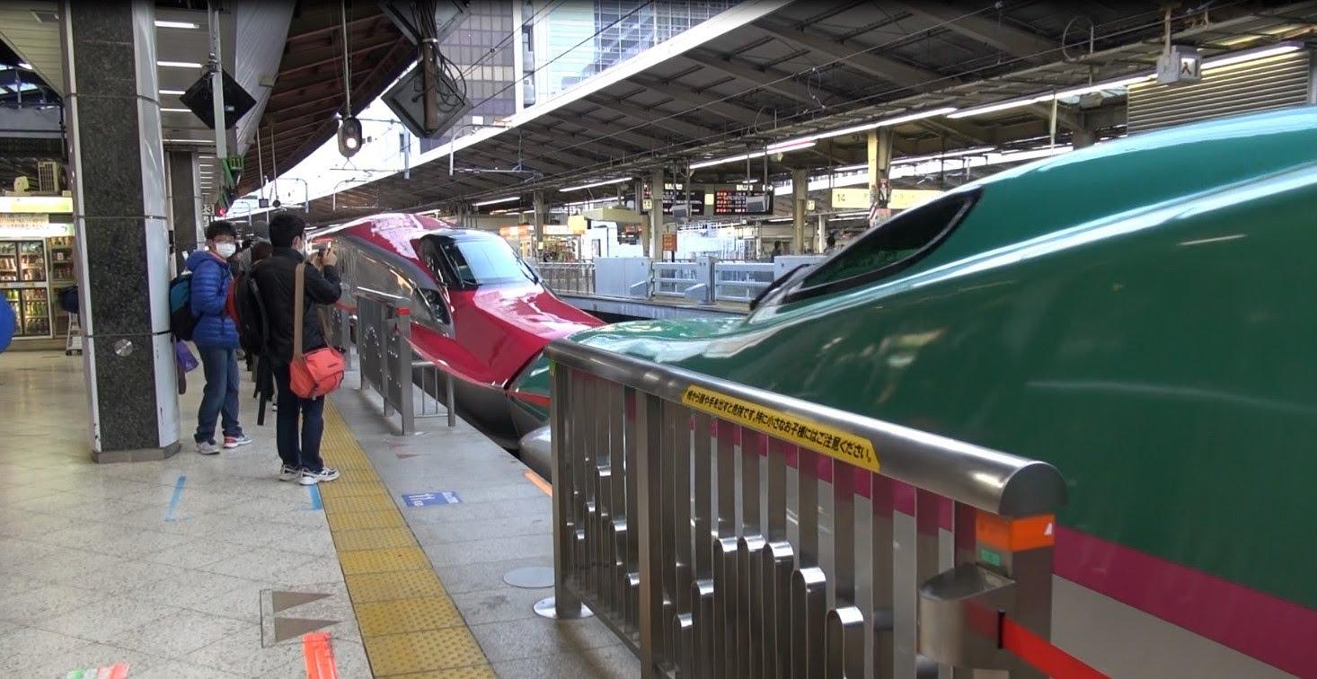 【フルHD】秋田新幹線スーパーこまち 東京-秋田 車窓 Akita-Shinkansen
