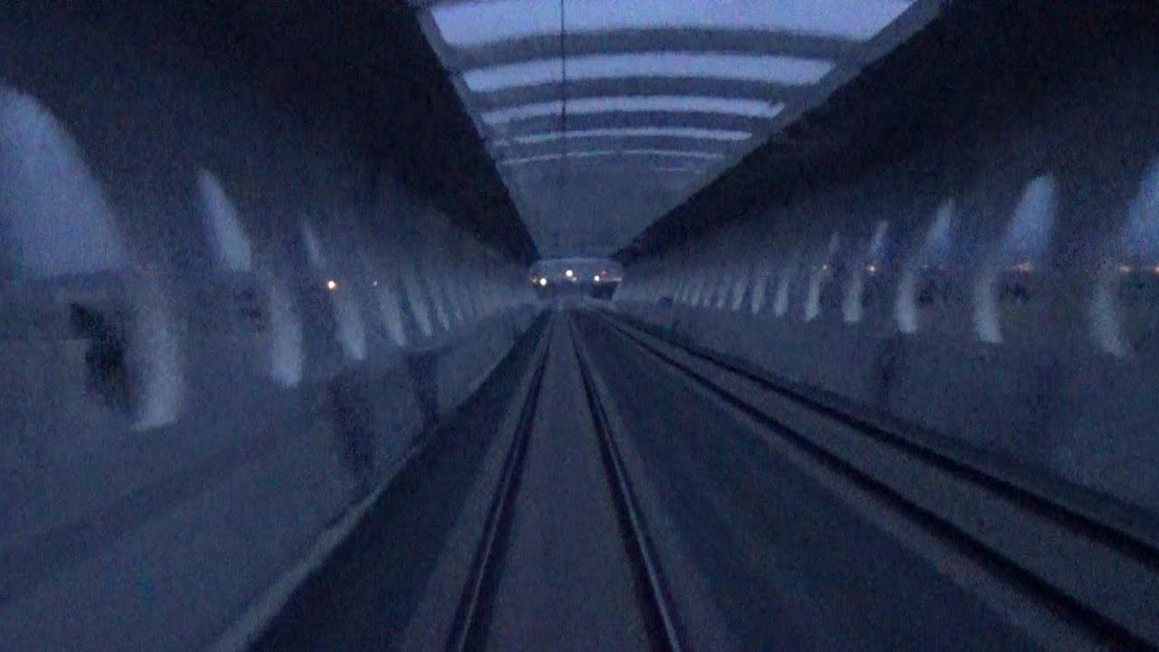 Rail View Tren AMANECE de Zaragoza a Barcelona 2014