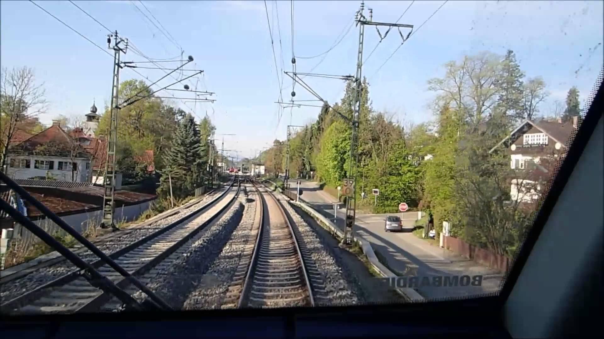 Führerstandsmitfahrt BR442 München Hbf – Murnau am 25.04.2014