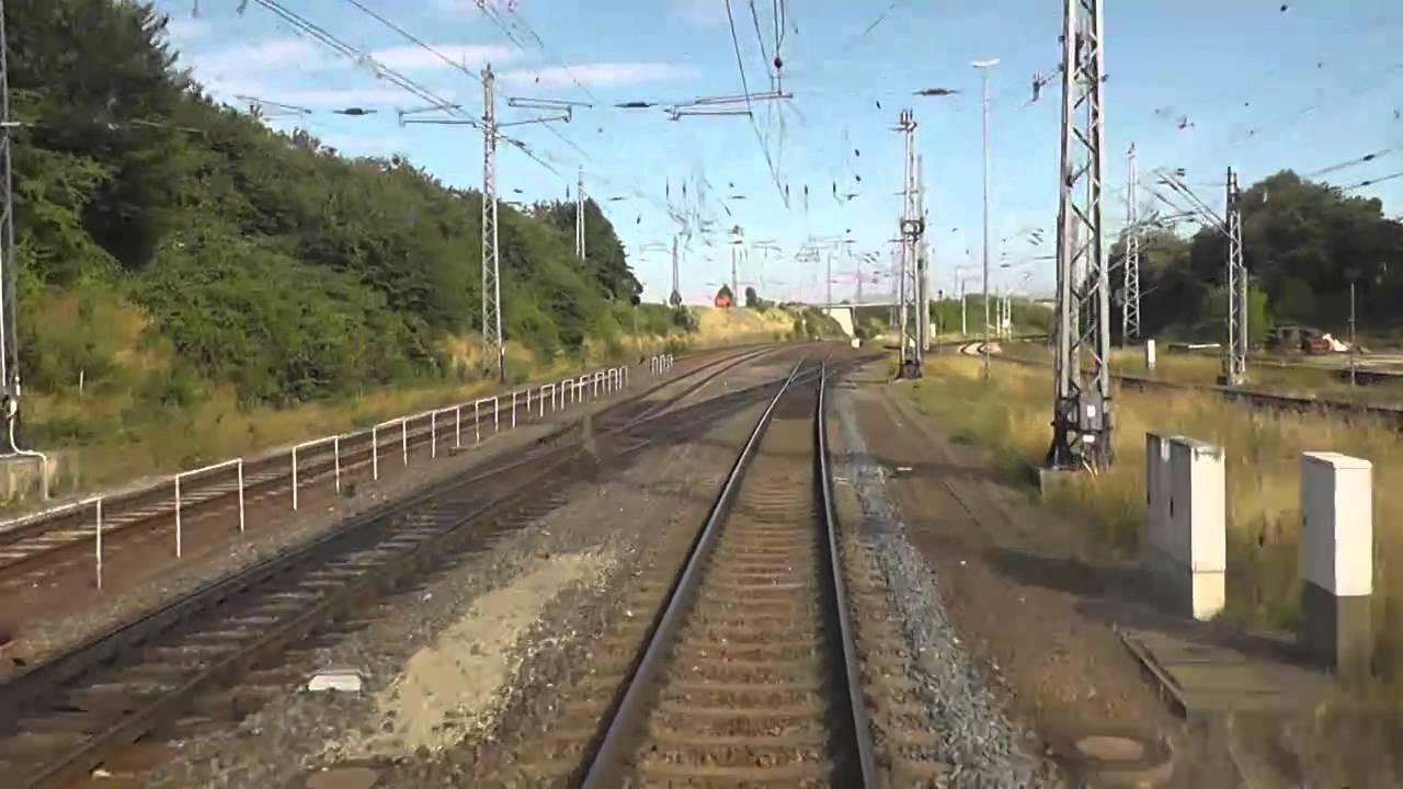 Führerstandsmitfahrt Kassel – Halle/S, Teil 1 Kassel – Nordhausen