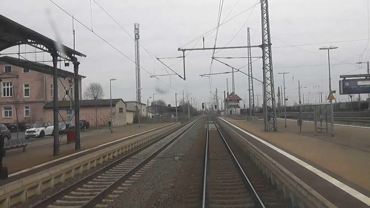 Führerstandsmitfahrt Kassel – Halle/S, Teil 2 Nordhausen – Halle