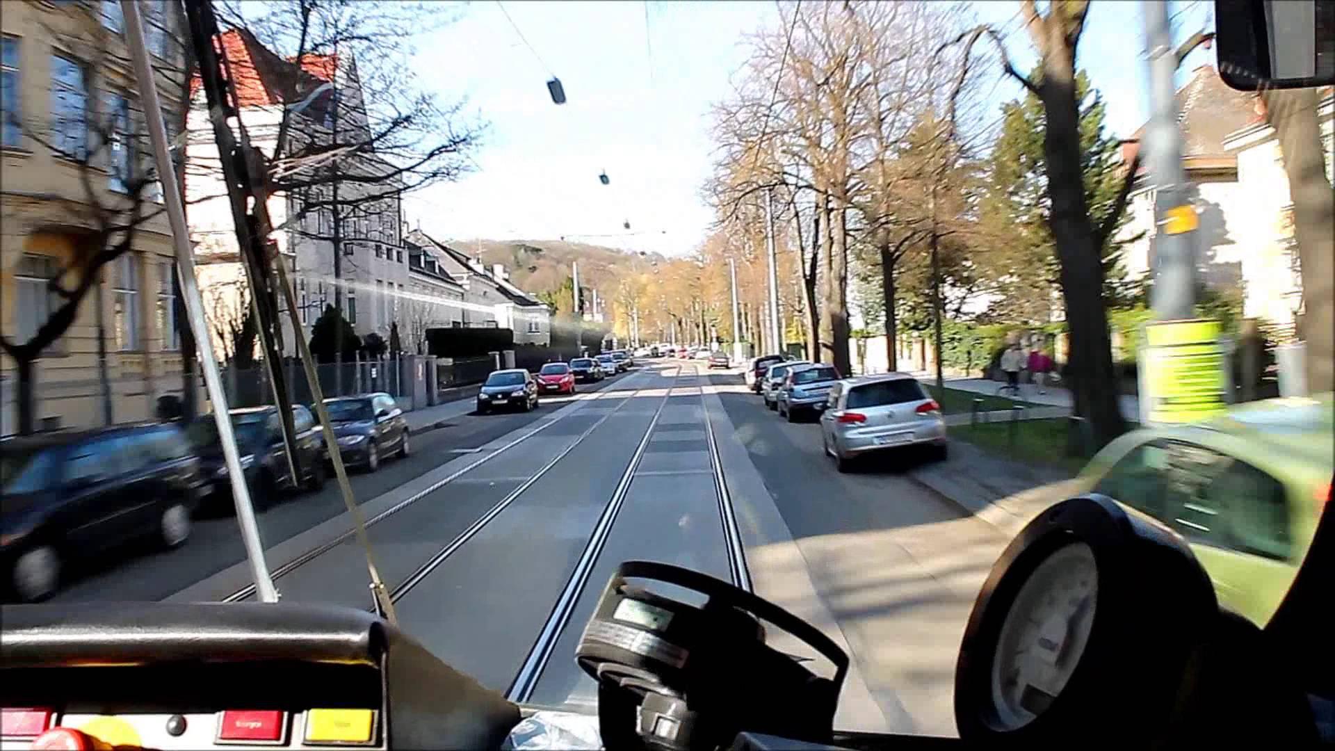 Führerstandsmitfahrt Linie 60 Wien (HD)