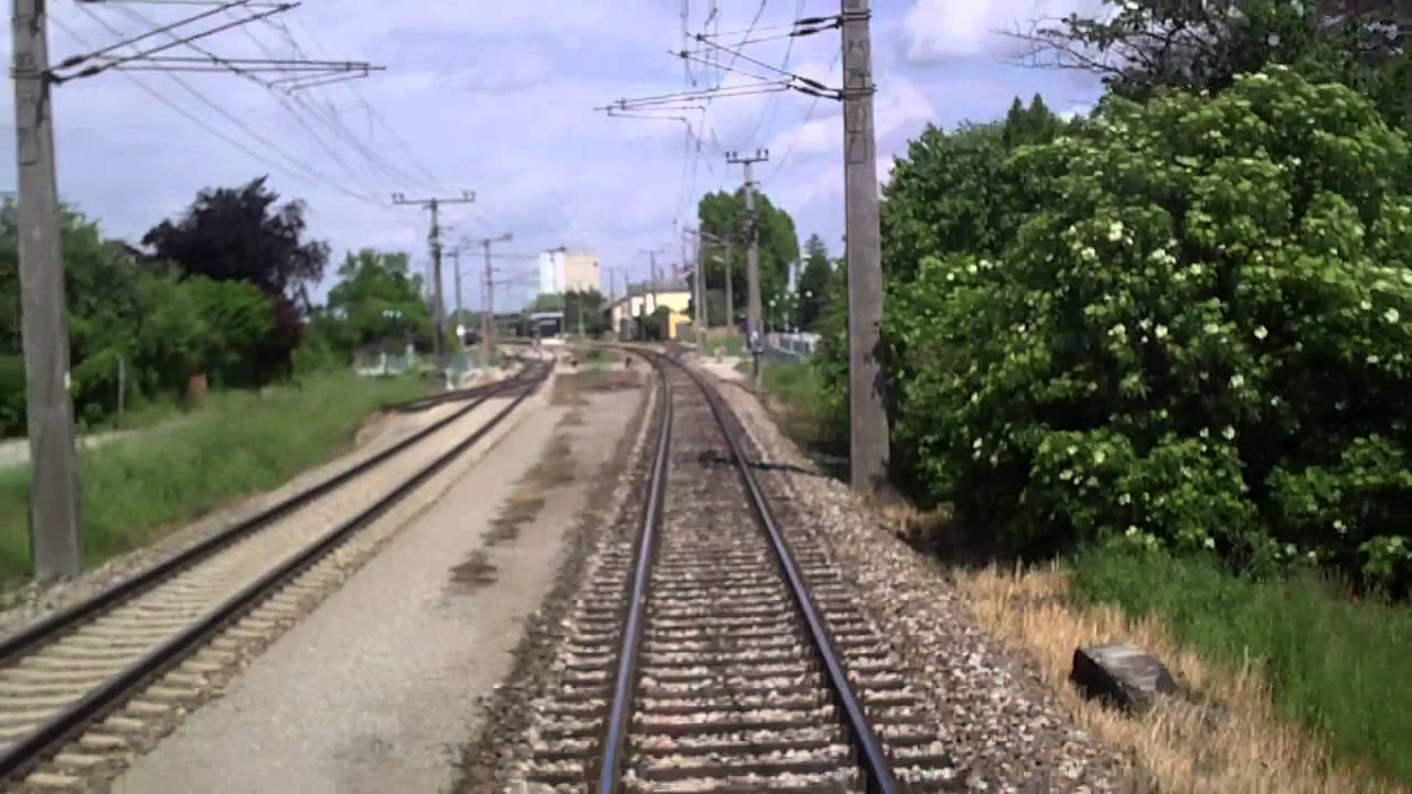Szlak Kolejowy EC Polonia Czechy-Austria cz XIV