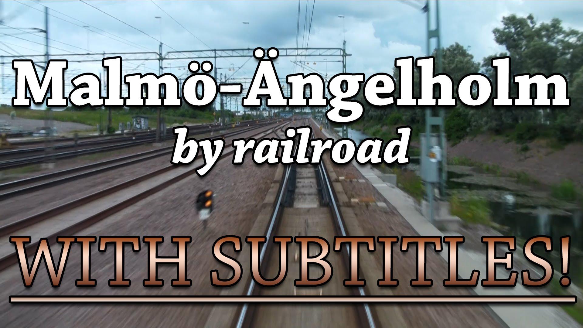 Train Driver's View: Malmö-Ängelholm