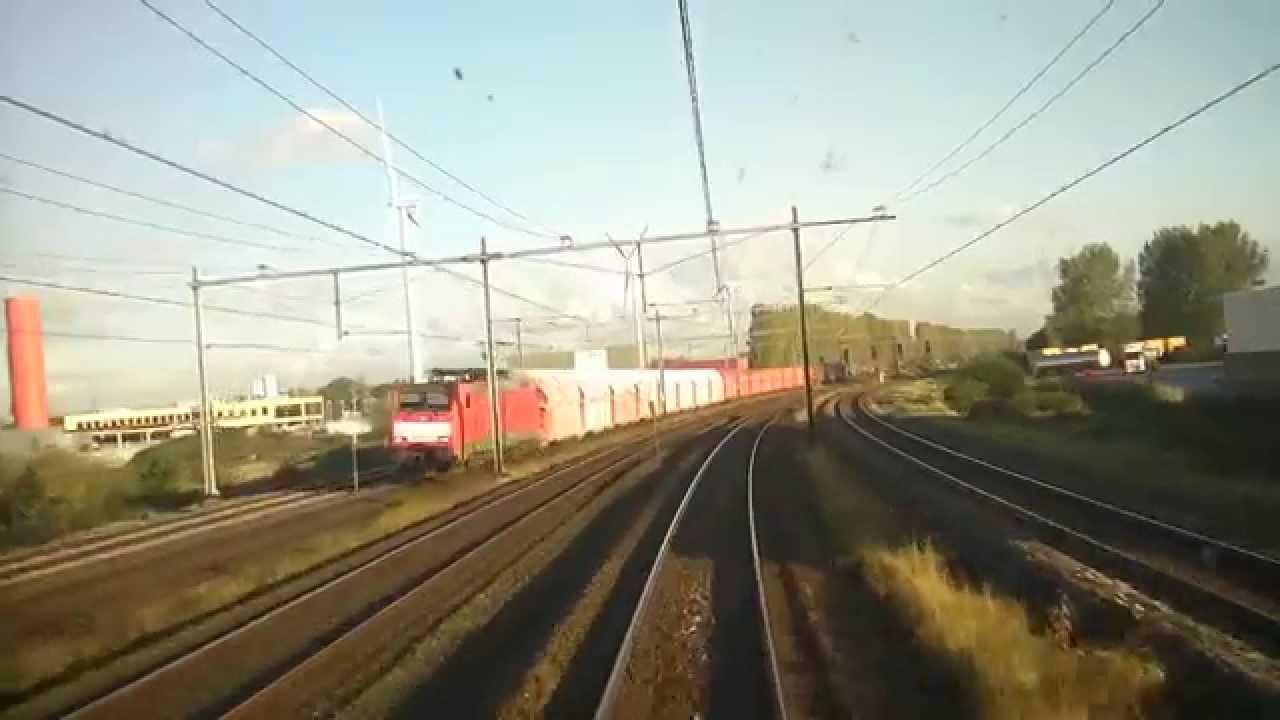 [cabinerit] A train driver's view XL: Arnhem – Den Helder, VIRM, 15-Oct-2014.