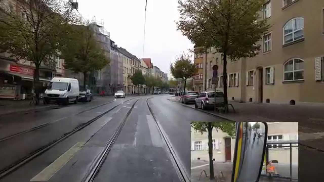 Führerstandsmitfahrt Linie 60 Altes Wasserwerk- Karl-Ziegler-Straße