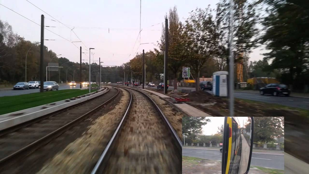 Führerstandsmitfahrt Linie 63 GTU Johannistahl Haeckelstr.-Hirestr.