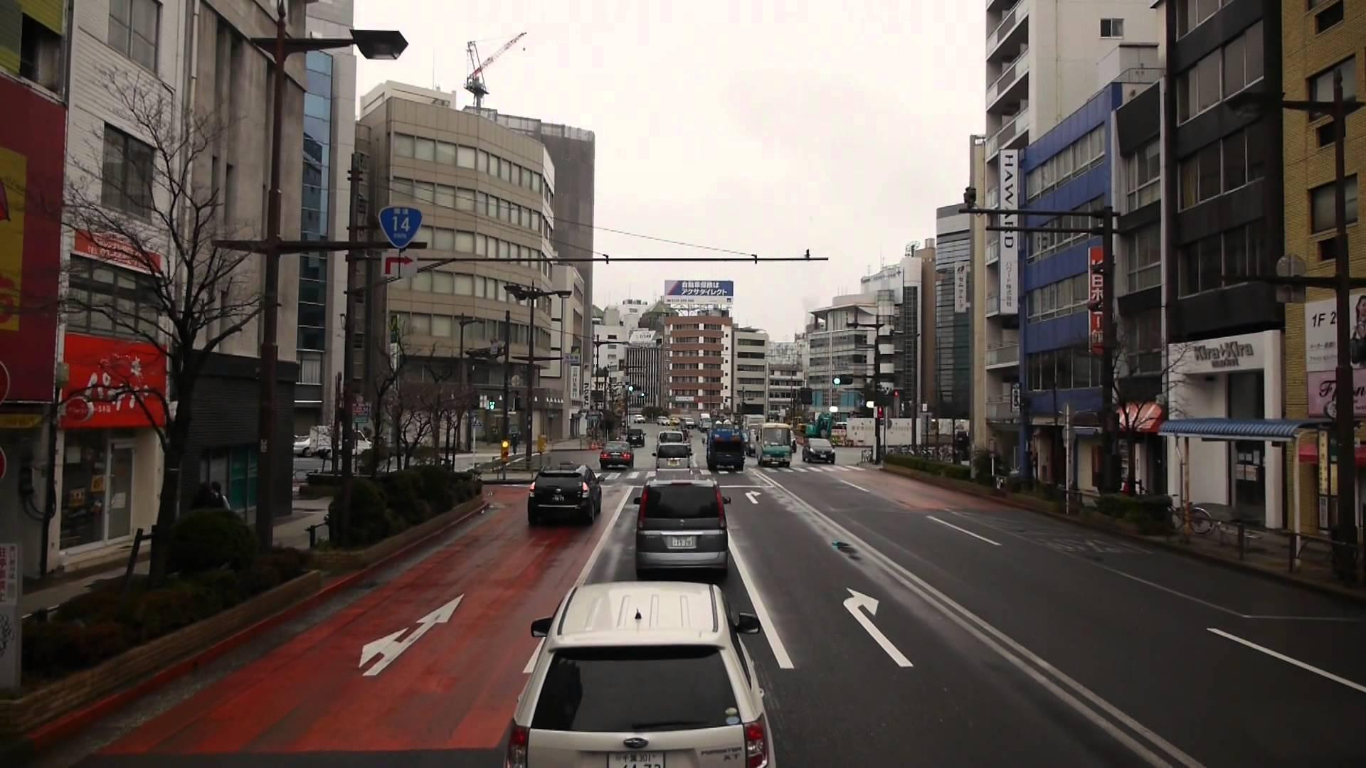 JRバス関東 スカイツリーシャトル 前面展望 東京駅~東京スカイツリータウン® 二階建てバス(エアロキング)運行便