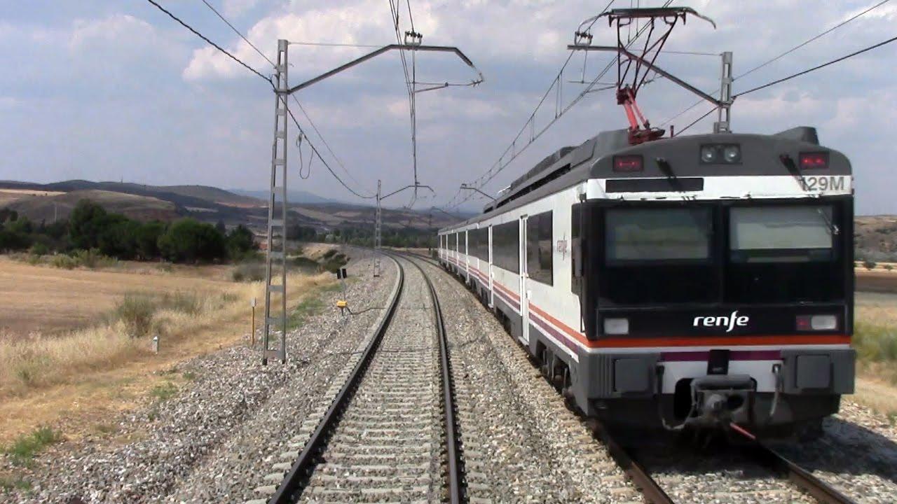 Rail View Tren de Zaragoza a Siguenza y Madrid 2014