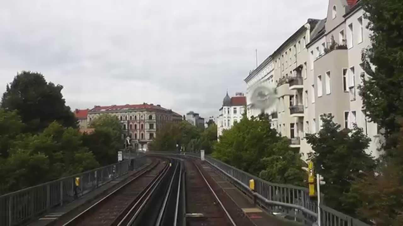 U-Bahn Berlin – U1 Führerstandsmitfahrt / Cab Ride: Warschauer Straße – Uhlandstraße