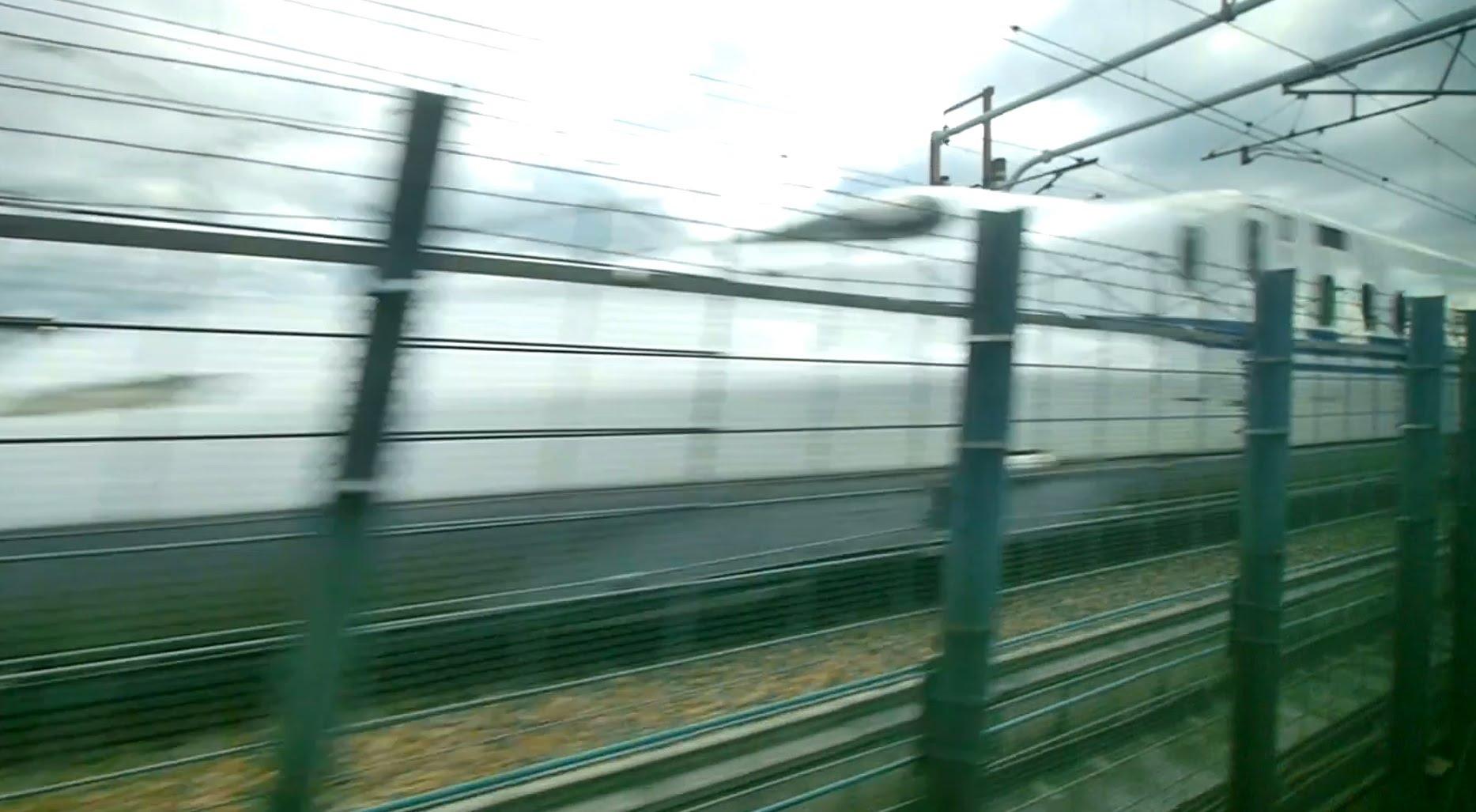 【60fps】阪急電鉄 京都線特急 超広角車窓 進行左側 河原町~高槻市~十三・梅田