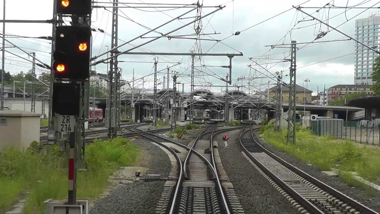DB Bahn – Führerstandmitfahrt – Nr. 21 – Von Worms Hbf nach Mainz Hbf über Osthofen – BR 143