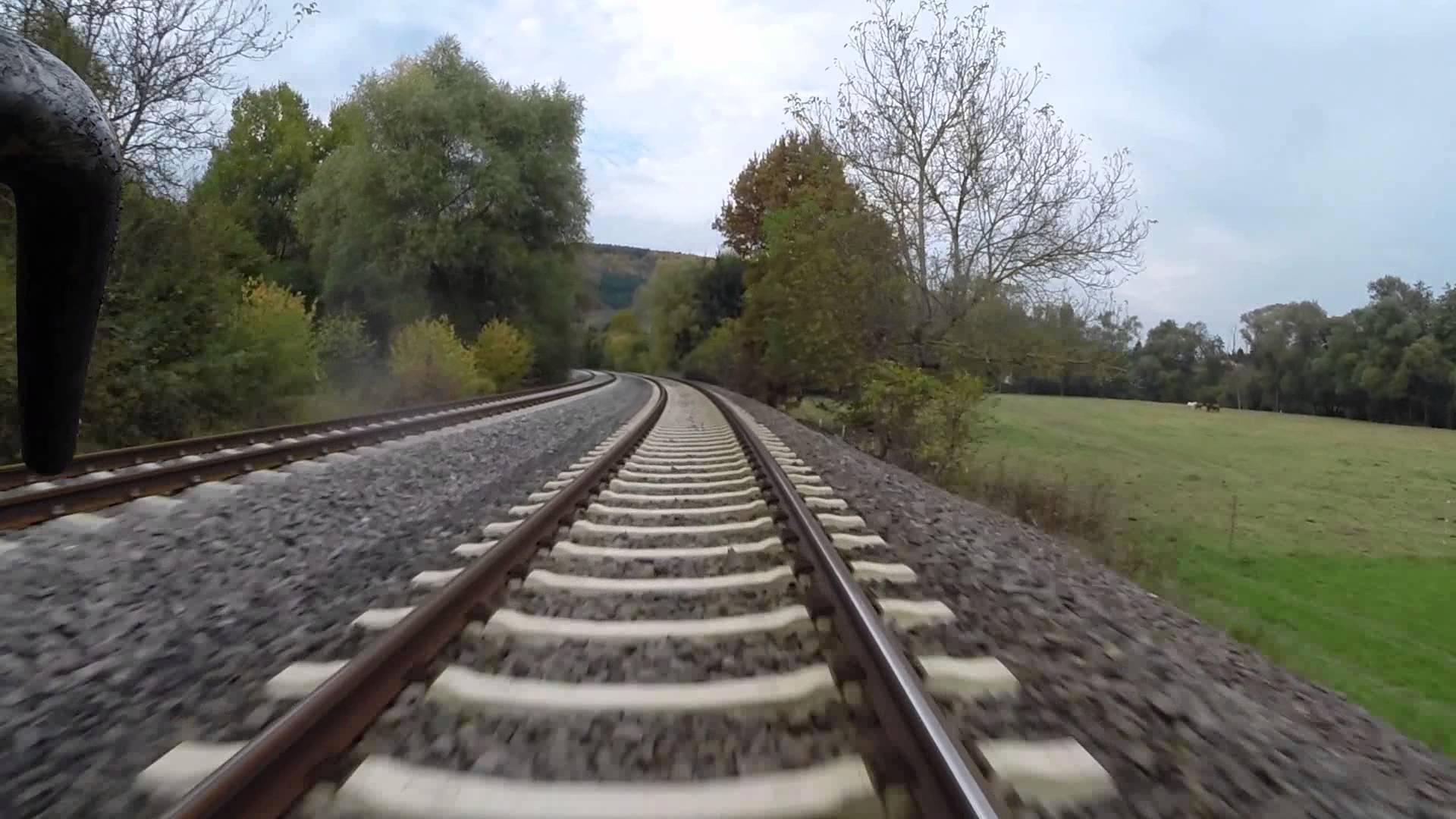 DB Bahn – Mitfahrt in der Schaku – Nr. 27 – Von Kaiserslautern Hbf nach Bingen am Rhein Hbf – GoPro