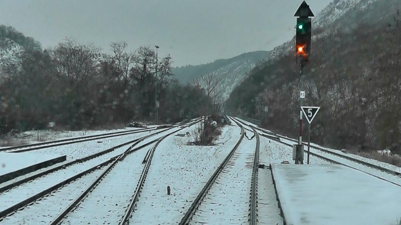 DB Bahn – Nr. 12 – Führerstandmitfahrt – Von Kirn nach Gensingen im Schnee – BR 628