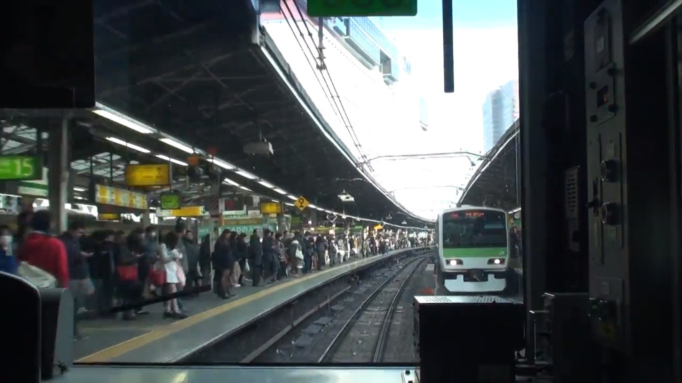 【FHD前面展望】JR山手線 外回り 池袋→池袋 Japan Tokyo Train View JR Yamanote Line