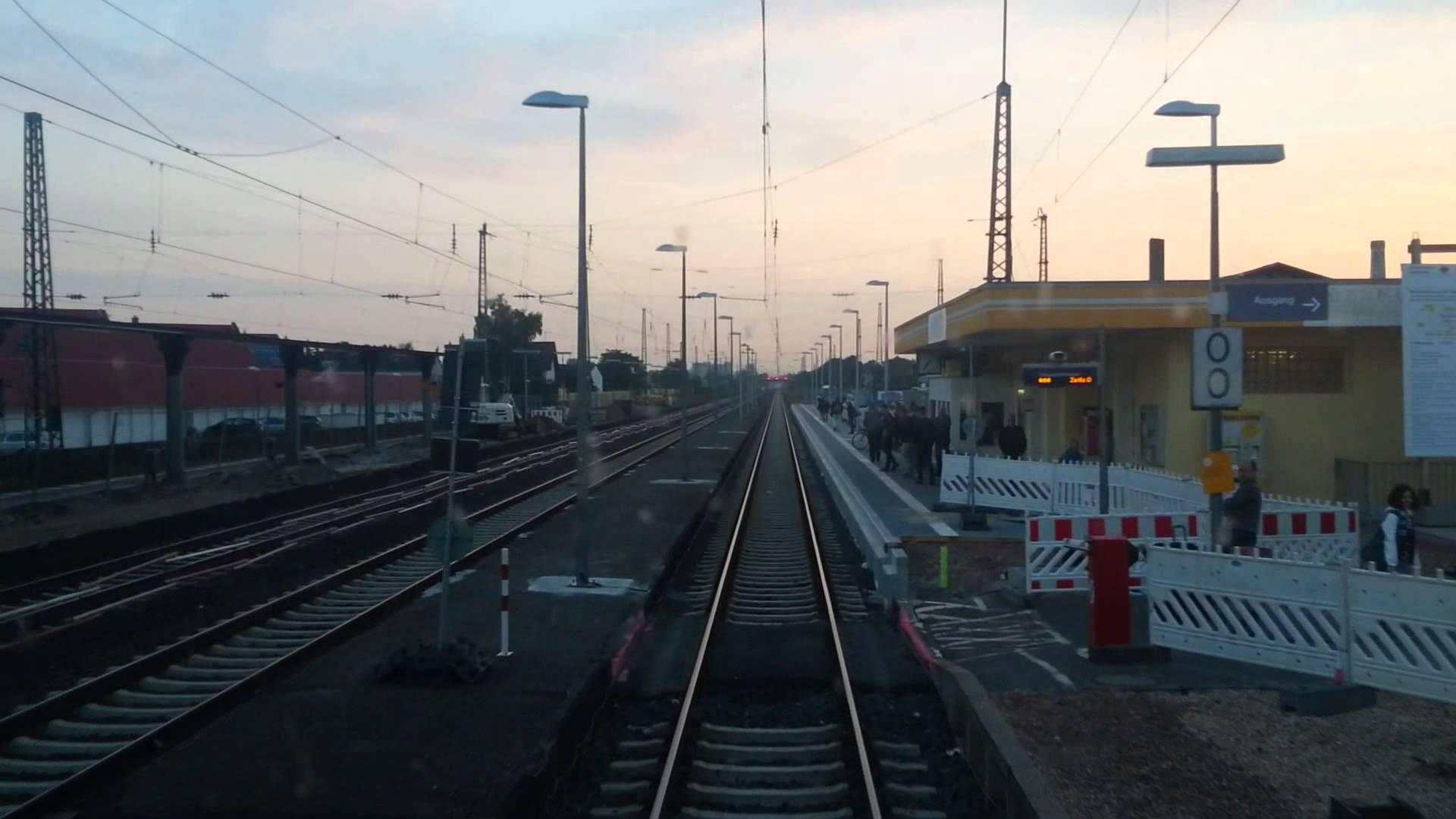 Führerstandsfahrt,Mittelrheinbahn,Spätsommer Morgengrauen,Oberwesel-Bacharach-Mainz,Desiro ML