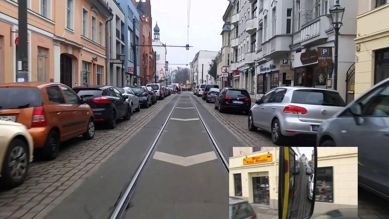 Führerstandsmitfahrt Linie 60 Altes Wasserwerk- Karl-Ziegler-Straße GTU