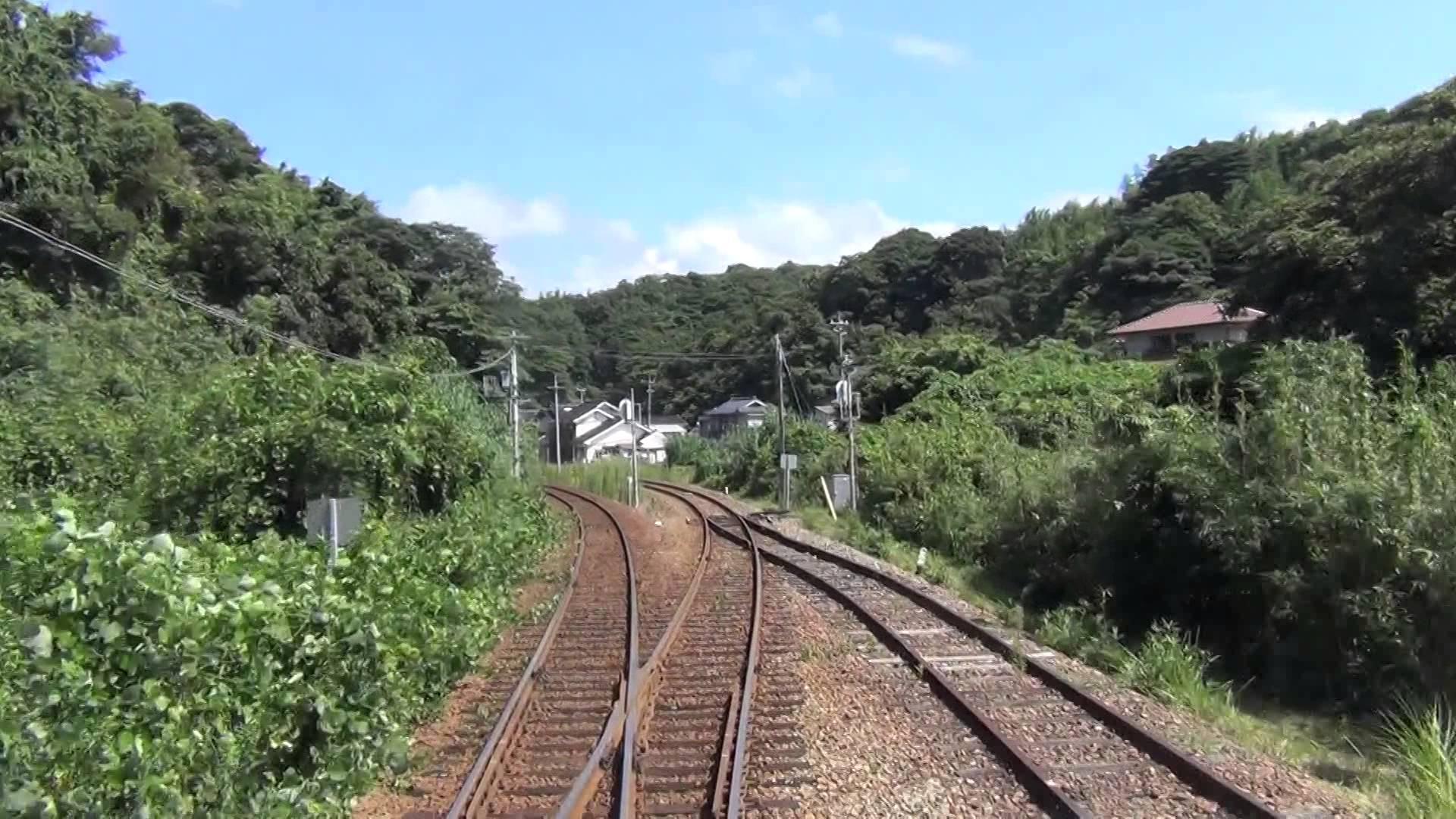 フルHD JR西日本 山陰本線 益田→浜田 前面展望