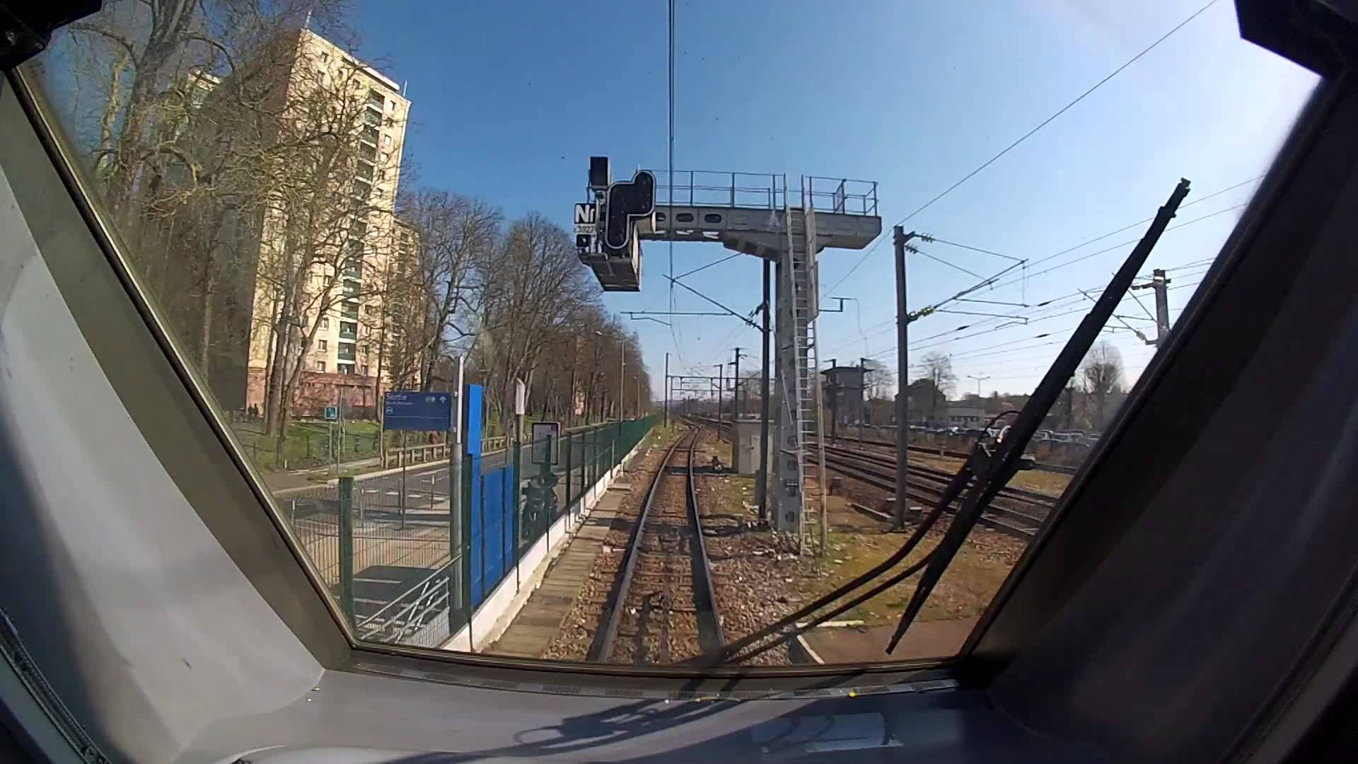 TRANSILIEN LIGNE P – Voyage en cabine d'une Z50000 (Francilien) de Paris Est à Meaux