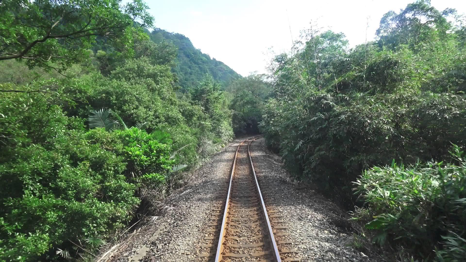 臺鐵 平溪 深澳線 4716次 海科館 – 菁桐 後側 路程景